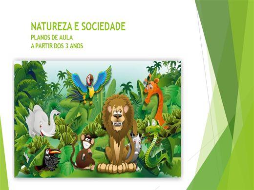 Curso Online de Natureza e Sociedade: Planos de Aula (A partir dos 3 anos)