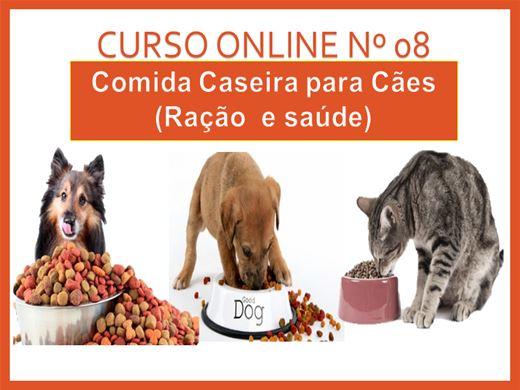 Curso Online de COMIDAS PARA CÃES (SAÚDE E RAÇÕES)