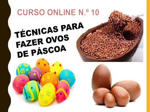 Curso Online de TÉCNICAS PARA FAZER OVOS DE PÁSCOA