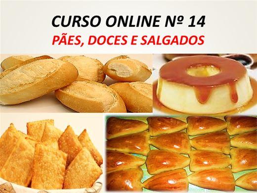 Curso Online de PÃES, DOCES E SALGADOS