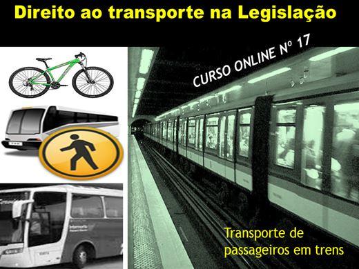 Curso Online de Direito ao transporte na legislação