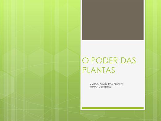 Curso Online de O PODER DAS PLANTAS