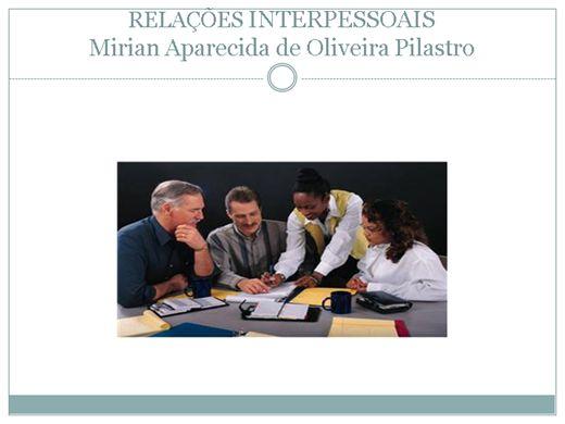 Curso Online de RELAÇÕES INTERPESSOAIS