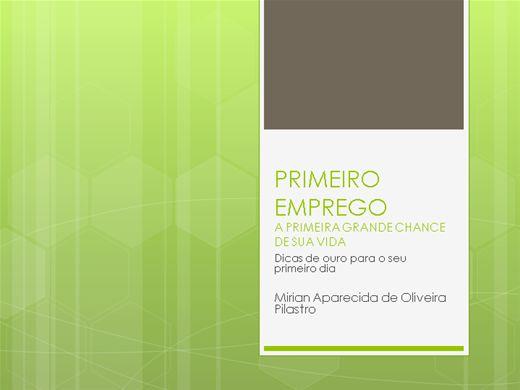 Curso Online de PRIMEIRO EMPREGO