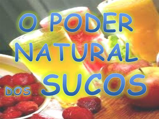 Curso Online de O PODER  NATURAL DOS SUCOS