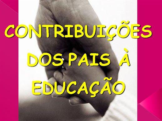 Curso Online de CONTRIBUIÇÕES DOS PAIS