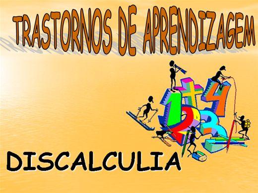 Curso Online de TRANSTORNO DE APRENDIZAGEM - DISCALCULIA