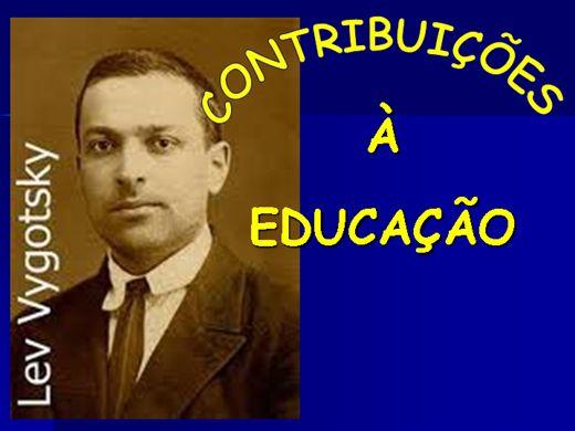 Curso Online de LEV VYGOTSKY - CONTRIBUIÇÕES À EDUCAÇÃO