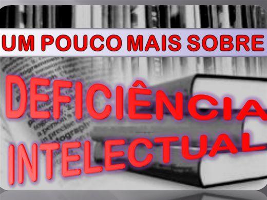 Curso Online de DEFICIÊNCIA INTELECTUAL