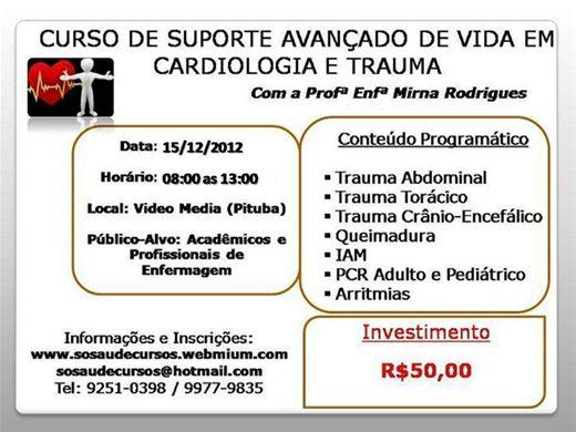 Curso Online de Suporte Avançado de Vida em Cardiologia e Trauma