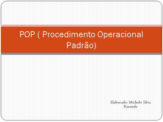 Curso Online de Procedimento Operacional Padrão ( POP )