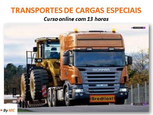 Curso Online de Transportes de Cargas Especiais