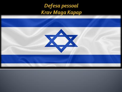 Curso Online de Defesa pessoal  Krav Maga Kapap