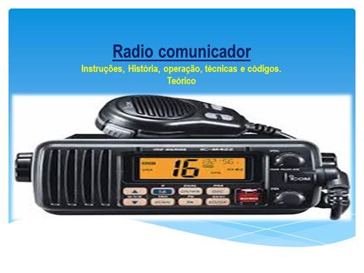 Curso Online de Radio comunicador