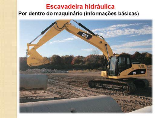 Curso Online de Escavadeira hidráulica