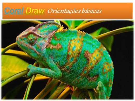Curso Online de Corel Draw  Orientações básicas