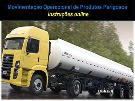 Curso Online de Movimentação operacional de produtos perigosos (MOPP)