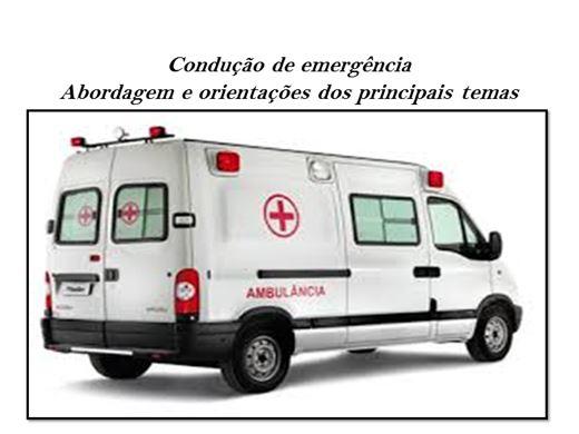 Curso Online de Condução de emergência Abordagem e orientações dos principais temas