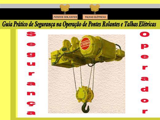 Curso Online de Curso de Operação em Ponte Rolante