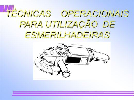Curso Online de Segurança na operação de Lixadeira e Esmerilhadeira