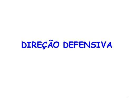 Curso Online de Direção Defensiva