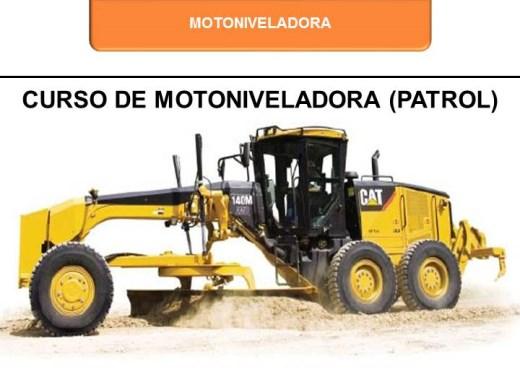 Curso Online de Motoniveladora (Patrol)