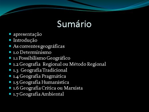 Curso Online de AS CORRENTES DO PENSAMENTO GEOGRÁFICO