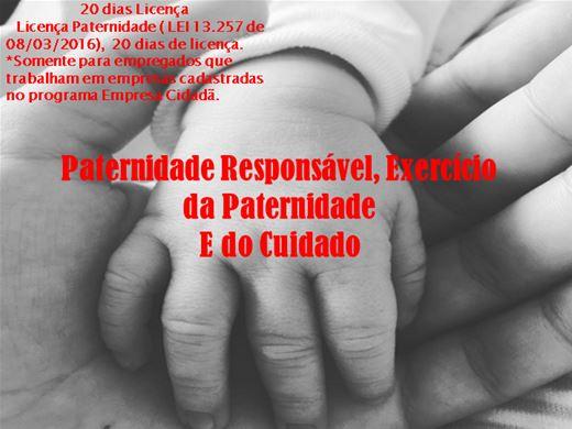Curso Online de Paternidade Responsável, Exercício da Paternidade e do Cuidado