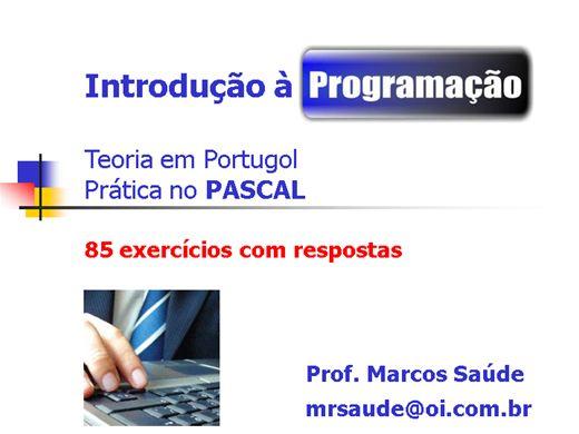 Curso Online de INTRODUÇÃO À PROGRAMAÇÃO - PASCAL