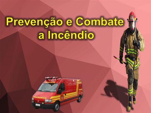 Curso Online de Combate e Prevenção à Incêndios