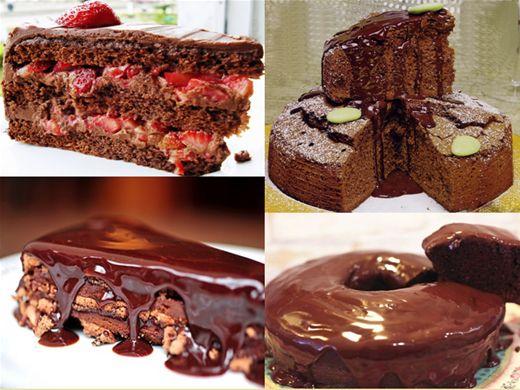 Curso Online de Bolos de Chocolate