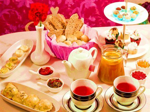 Curso Online de  Receitas para Chá das cinco