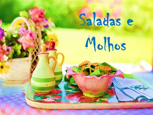Curso Online de Saladas e Molhos