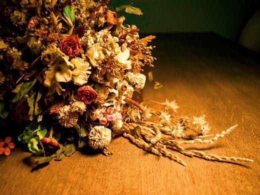 Curso Online de Desidratação e aromatização de flores