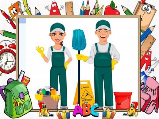 Curso Online de Auxiliar de Limpeza e Higiene Escolar