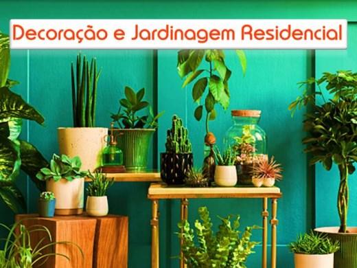 Curso Online de Decoração e Jardinagem Residencial