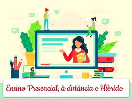 Curso Online de Ensino Presencial, à distância e Híbrido
