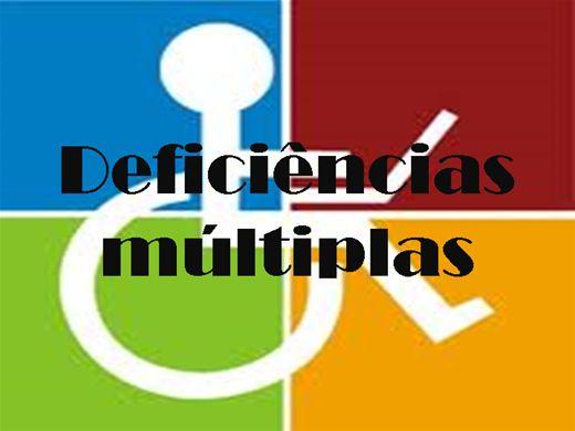 Curso Online de DEFICIÊNCIAS MÚLTIPLAS
