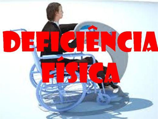 Curso Online de Deficiência Física