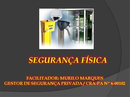 Curso Online de SEGURANÇA FÍSICA