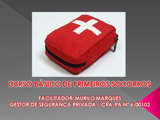 Curso Online de CURSO BÁSICO DE PRIMEIROS SOCORROS