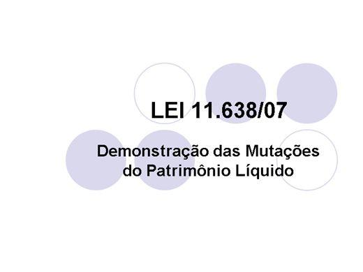 Curso Online de Demonstrações das Mutações no PL