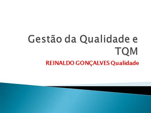 Curso Online de GESTÃO DA QUALIDADE E TQM