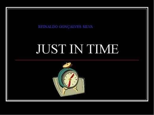 Curso Online de  Just in Time