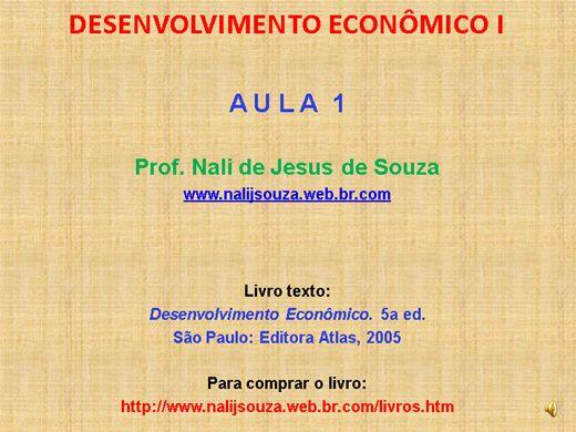 Curso Online de Desenvolvimento Econômico Nível I