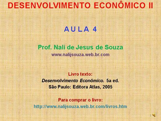 Curso Online de Desenvolvimento Econômico Nível II