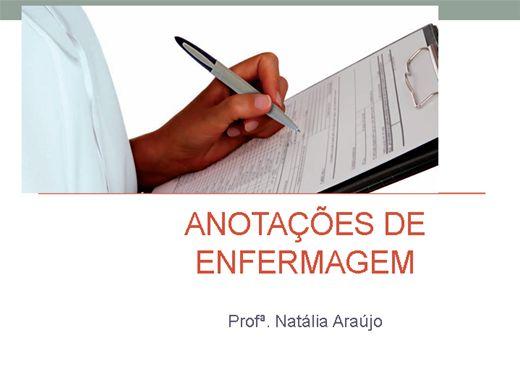 Curso Online de ANOTAÇÕES DE ENFERMAGEM E BALANÇO HÍDRICO EM UTI