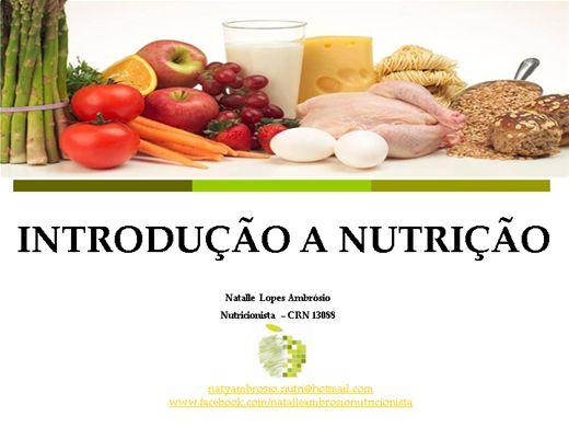 Curso Online de Introdução a Nutrição