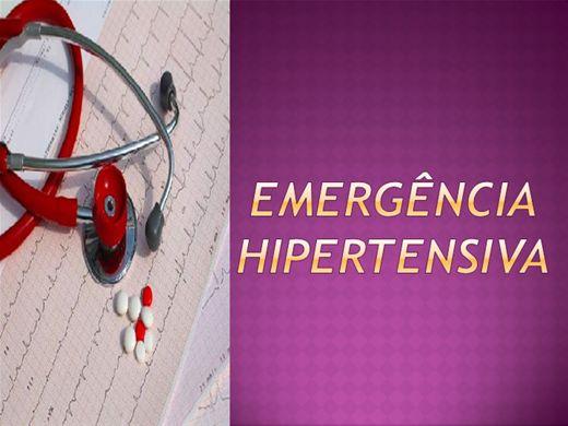 Curso Online de Emergência  Hipertensiva
