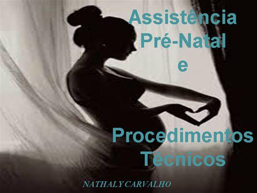 Curso Online de ASSITÊNCIA AO PRÉ-NATAL E PROCEDIMENTOS TÉCNICOS